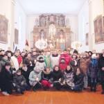 Uczestnicy obchodów w wędziagolskim kościele