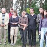 Goście z Wrocławia wraz ze swymi wędziagolskimi opiekunami